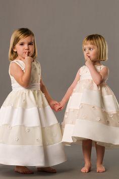 Beautiful ball gown tulle sleeveless flower girl dress