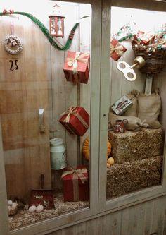 Escaparate navideño para Foto-Deco&Souvenir. Miquel Pizarro aparadorisme.