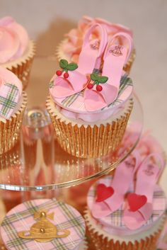 Vivienne Westwood Inspired Cupcakes by The Clever Little Cupcake Company (Amanda), via Flickr