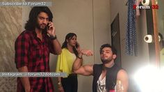 Watch the full video on our YouTube channel - link in the bio.  Kunal Jaisingh and Surbhi Chandna imitate Tej and Svetlana. Leenesh gives valuable suggestions. @kunaljaisingh @officialsurbhic @leenesh_mattoo #ishqbaaz #ishqbaaaz #indiantelevision #indiantvshows #mumbai #india #setlife #bollywood #bollywood