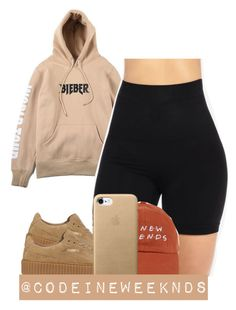 """""""12/8/16"""" by codeineweeknds ❤ liked on Polyvore featuring Justin Bieber and Puma"""