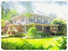 Fun with the Waterlogue app