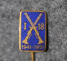 I-18, Västmanlands regemente 1941-1951, swedish army