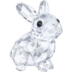 This sweet clear crystal piece is inspired by the beauty and elegance of nature. Expertly crafted with 311 crystal facets, this adorable baby rabbit... Shop now