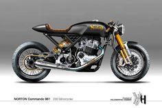 Hilo de fotos de motos custom, old school, cafe racer, etc molonas - ForoCoches