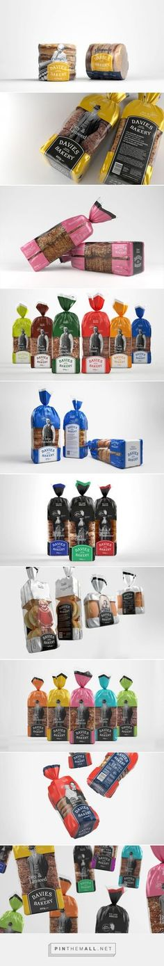 Davies Bakery - Packaging of the World - Creative Package Design Gallery - http://www.packagingoftheworld.com/2016/02/davies-bakery.html