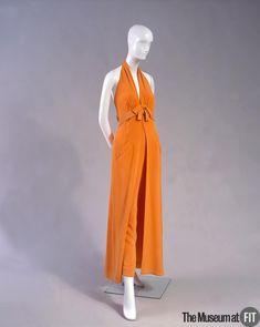 Ensemble Designer: Irene Galitzine 1916 - 2006 Medium: Orange crepe Date: 1968