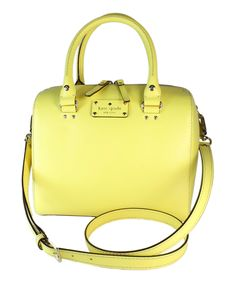 Another great find on #zulily! Kate Spade Limonium Wellesley Alessa Boston Tote by Kate Spade #zulilyfinds