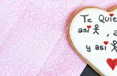 Precioso texto para una #galleta de #SanValentin , quieres ver más? http://cakepuntcom.blogspot.com.es/2015/02/galletas-para-san-valentin.html…