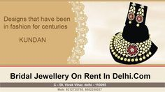 Bridal jewellery on rent in Delhi - Premium Collection