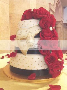 Phantom of the Opera Quinceañera – Cakes and More by Nora