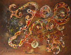 """Saatchi Art Artist Bernard Rangel; Painting, """"Drunk Elephant"""" #art"""