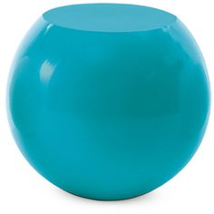 Cappellini Bong Round Coffee Table found on Polyvore featuring home, furniture, tables, accent tables, turquoise, round side tables, round end table, circular side table, round table and stacking tables