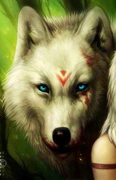 Mononoke wolf