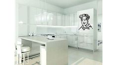 Chef Kitchen Decoration Sticker Decal Wall art Kitchen Cooking Decal Vinyltr1838