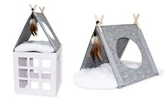 Exciting news! You can now add a whole bunch of new accessories to your Katt3 Modular Cat Climbing System to make it even more entertaining and enriching for your cat! Check out all these awesome add-ons, now available! First we have the Katt3 Felt Tipi. This little hideaway can be attached to any of the... Read More