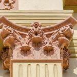historical facade stucco