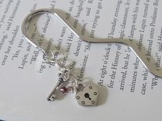 Key to My Heart Bookmark by MLinksDesigns on Etsy