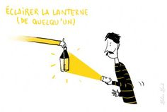 Las expresiones de la lengua francesa http://www.tv5.org/TV5Site/publication/galerie-327-8-Eclairer_sa_lanterne_lui_donner_les_elements_necessaires_a_la_comprehension_d_un_fait.htm