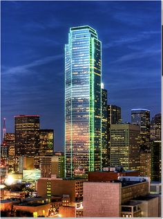 Bank of America Plaza: Dallas, TX. Been here!