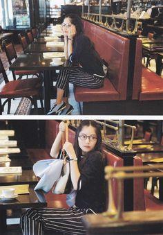 宮﨑あおい Aoi Miyazaki 女優 Japanese actress Nerd Chic, Tennis Fashion, Pause, 2 Girl, Miyazaki, Kawaii Girl, Japanese Girl, Minimalist Fashion, Pretty Woman