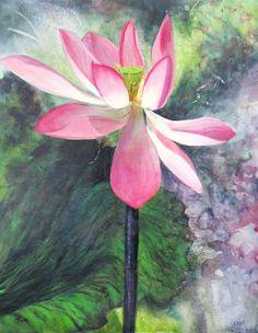 *Tropical Water Lily* ~ Chris Hobel ✿