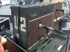 The most legendary guitar amplifier of all time: Edge's '64 AC30.