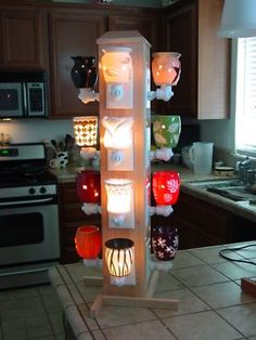 Ideal Display for Scentsy products 12 outlets. I need someone to make this for me.