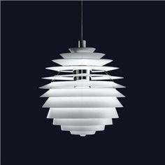 "23.6"" Louis Poulsen PH Louvre Suspension Lamp - Style # PHL, Modern Suspension Lamps - Modern Chandeliers - Modern Pendant Lighting | SwitchModern..."