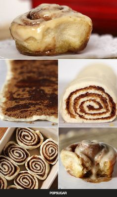 We're all for making traditional homemade-dough cinnamon rolls, but sometimes you just want the piping hot buns, dripping with butter and brown sugar, ASAP. When you're experiencing an uncontrollable jonesing for a homemade batch, but don't want to go through the whole trouble of making the dough, you'll want this easy cinnamon roll recipe that gets the job done in 30 minutes.