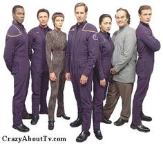 I love Star Trek: Enterprise! They don't get enough recognition! They explore the idea of doing bad things for good reasons and what it means to be the underdog. So many thought provoking stories!