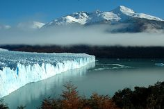 Perito Moreno glacier Argentina by Pat Garvey, via ShutterStock What A Wonderful World, Beautiful World, Vacation Destinations, Vacation Trips, Birds Eye View, Natural Wonders, View Image, Wonders Of The World, The Good Place