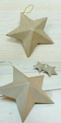 #Estrella #deco #kraft #holamama #shop #handmade #diy