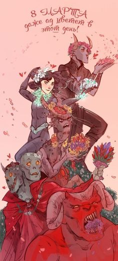 Even hell blooms on this day(mother's day) Character Art, Character Design, Avas Demon, Morgoth, Fantastic Art, Awesome Art, Cool Art, Bubbles, Geek Stuff