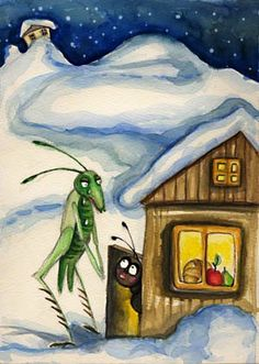 Ants, Colors, Painting, Riddling Rack, Animales, Verses, Gaming, Ant, Painting Art
