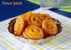 Paneer Jalebi – Chanar Jalebi | Spicy Tasty