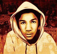 Shepard Fairey Paints Trayvon Martin (PHOTO) | Global Grind