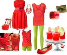 """Cherry Limeade"" by casualsouthern on Polyvore"