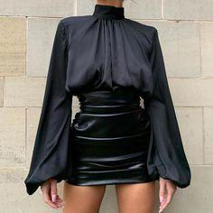 Fashion Mode, Look Fashion, Womens Fashion, Types Of Fashion, Sexy Fashion Style, High Fashion Looks, Classy Fashion, Fashion Black, Modern Fashion