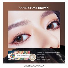 1 Pair of Tone Colored/_Lenses,Enlarger Eyes Supernatural Lens,Fashion Eye Lenses,Beautiful Color Student Lens