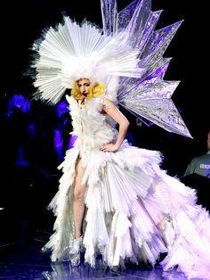 Gaga as an Ice Queen