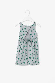 TO WEAR (Heart print dress/COS)