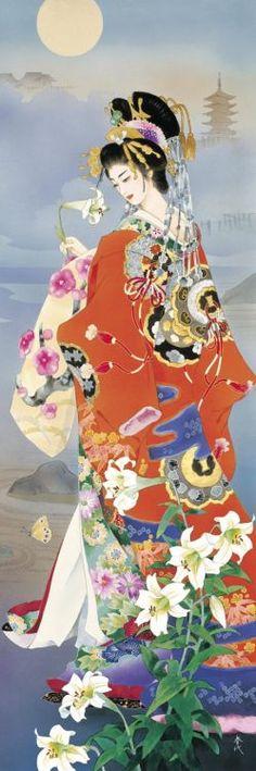 Morita Haruyo 百合-花雅