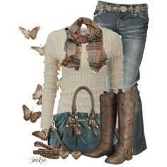 """Butterflies"" by jackie22 on Polyvore"