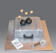 Spy Games Cake | Flickr - Photo Sharing!
