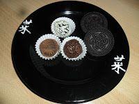 Sabines und Anjas Hobbyeck: Oreo Trüffel Kakao, Decorative Plates, Vanilla Cream, Hobbies, Weihnachten