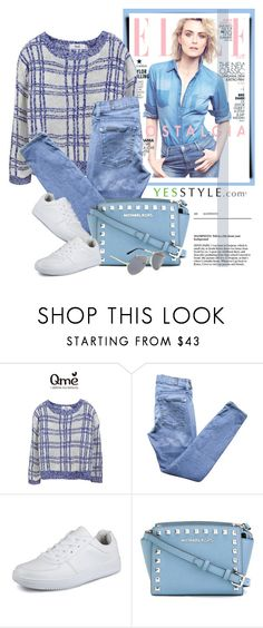 """""""YESSTYLE.com"""" by monmondefou ❤ liked on Polyvore featuring 7 For All Mankind, MICHAEL Michael Kors, KOON, women's clothing, women, female, woman, misses and juniors"""