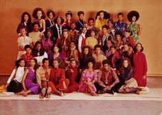 African American fashion models, 1970s