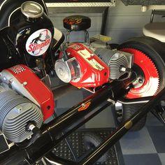 "1960 Simplex vintage go kart...Twin Engine West bend 580""s"