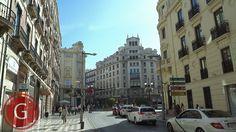GRANADA | CENTRO | Calle Recogidas, a pie de Calle Alhóndiga, mirando hacia Puerta Real.